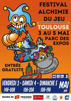 Alchimie_2019_250x353px Festival Alchimie du jeu de Toulouse 2019